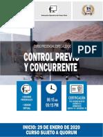CONTROL PREVIO Y CONCURRENTE 2019 IIAAE