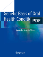 Genetic Basis of Oral Health Conditions - Alexandre Rezende Vieira - (2019)