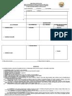 formato secuencia didactica 2020