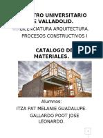 CATALOGO MATERIALES