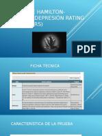 ESCALA DE HAMILTON- Hamilton DEPRESIÓN Rating Scale (