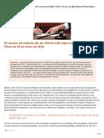 Diario LA LEY, Nº 9591, De 11 de Marzo de 2020