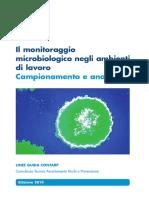 Alg Il Monitoraggio Microbiologico Negli Ambienti Lavoropdf