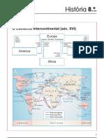 O comércio intercontinental