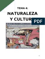 Tema 4 - Naturaleza y Cultura. El origen del patriarcado
