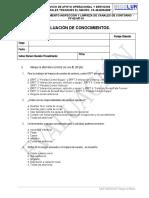 Eval. Procedimiento Insp y Limpieza Canal de Contorno PF-69-MT-01