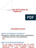 Test de Hipótesis 2015