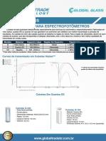 Cubetas para espectrofotometros