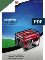 Manual de Serviço B4T 2500 LE B4T 2500 T