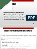 1 curso de productos limpieza