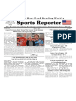 March 19, 2020  Sports Reporter