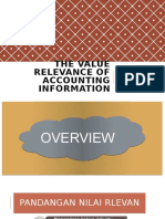 PPT CHAPTER 5 - The Value Relevance Of Accounting Information