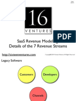 7 SaaS Revenue Streams
