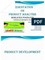 Presentation on Horlicks Foodles