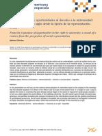 Adriana Chirole La Expansión de Oportunidades