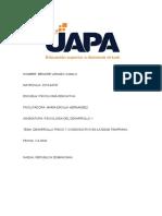TAREA 6 PSICOLOGIA DEL DESARROLLO 1 (Autoguardado)