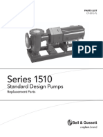 b&g-1510-standard-design-parts-list