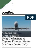Recipe Airline Success