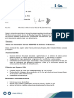 MDN 1419-2020-Medidas Institucionales -Covid 19 (Coronavirus)