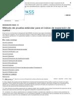 D4829-19 Indice de xpansion de suelos