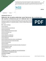D4943-18 Factores de contracción en suelos cohesivos por inmersión en agua
