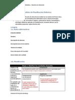 MODELOS DE PLANIFICACION DIDACTICA