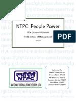 NTPC HR