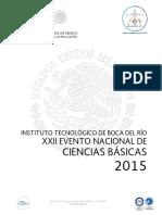 MEMORIA DEL XXII EVENTO NACIONAL DE CB 2015.pdf