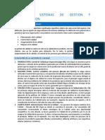Tema 2.1 SISTEMAS DE GESTION Y NORMALIZACION