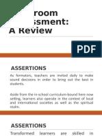 Classroom-Assessment-A-Review