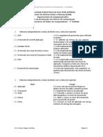 Lista de Exercícios de Redes de Computadores - Unidade 1 (1)