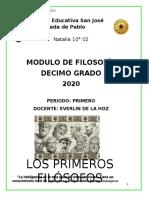 MODULO DE FILOSOFIA DECIMO GRADO