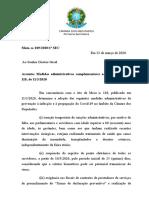 Medidas Administrativas Coronavírus Câmara dos Deputados.doc