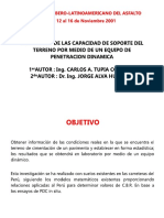 Capacidad de Soporte PDC (resumen)