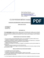 Conjunto Derechos y Deberes Socios club