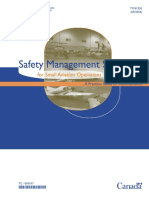 Safety Management Systems for Small Aviation Operations