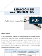 01 - Validación de instrumentos