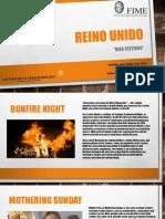 ACTIVIDAD 2 REINO UNIDO DIAS FESTIVOS
