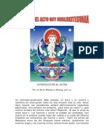 EL SUTRA DEL ALTO REY AVALOKITESVARA