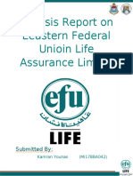 Anylisis Report on Eeastern Federal Unioin Life Assurance Limitid