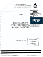 Bahrain Regulation for Electrical Installation