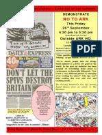 472. Sept 26 2008 ARK Demo Leaflet