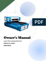 Manual of Laser Die Cutting Machine.pdf