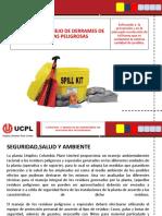 CONTROL Y MANEJO DE DERRAMES DE SUSTANCIAS PELIGROSAS .pptx