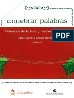 Enhebrar palabras - Itinerarios de lectura MILA CAÑON CAROLA HERMIDA