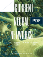 Deep Learning_ Recurrent Neural Networks in Python_ LSTM, GRU, and more RNN machine learning architectures in Python and Theano (Machine Learning in Python) ( PDFDrive.com ).pdf