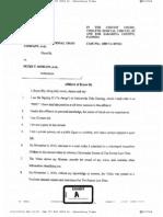 Affidavits of Bryan Bly, Crystal Moore and Dhurata Doko