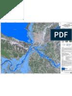 Map of flooding in Shkoder