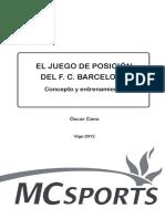 EL JUEGO DE POSICIÓN DEL F. C. BARCELONA.pdf