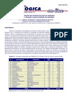 A SERINGUEIRA NO ESTADO DO RIO DE JANEIRO - histórico, situação e potencialidade da atividade